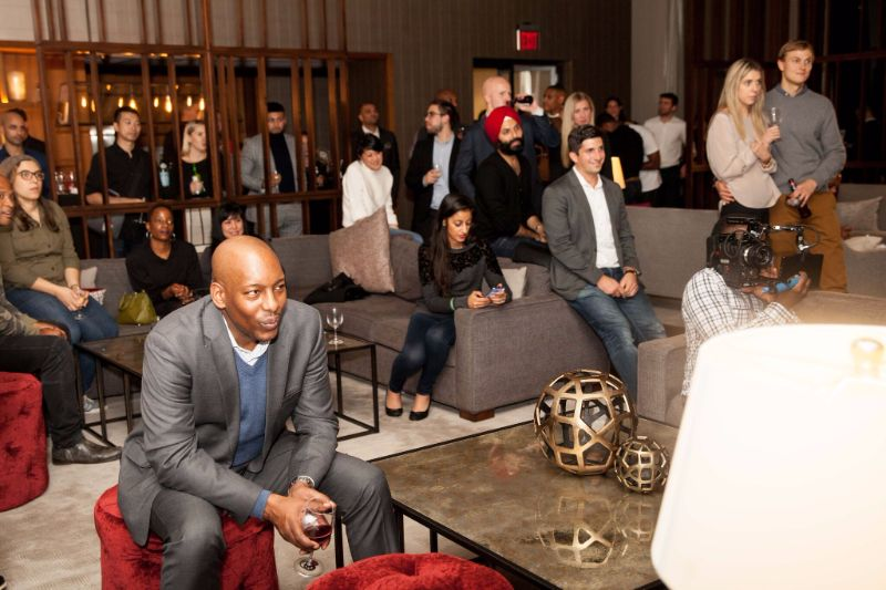 NYC Luxury Apartment space and building events and location